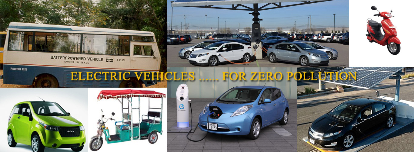 Electric Vehicle for Zero Pollution